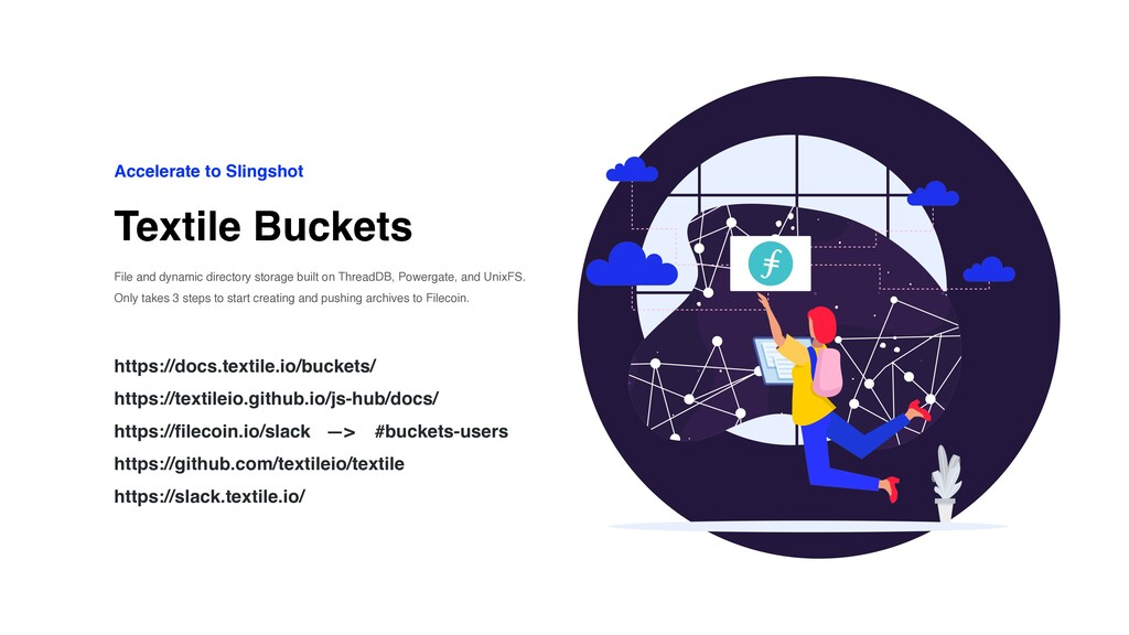 Textile Buckets Accelerate to Slingshot File an...