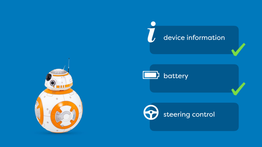 i device information battery steering control