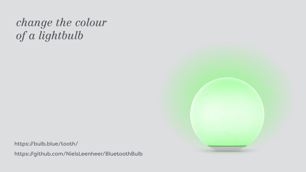 https:/ /bulb.blue/tooth/ https:/ /github.com/...