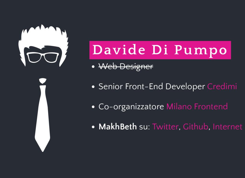 Davide Di Pumpo Web Designer Senior Front-End D...