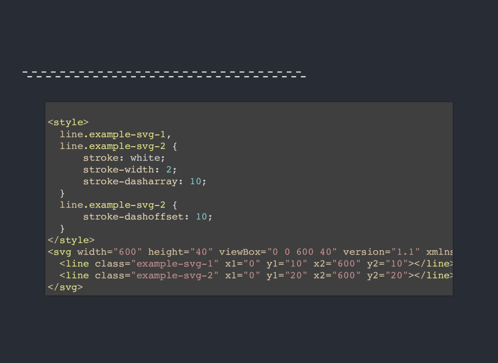 <style> line.example-svg-1, line.example-svg-2 ...