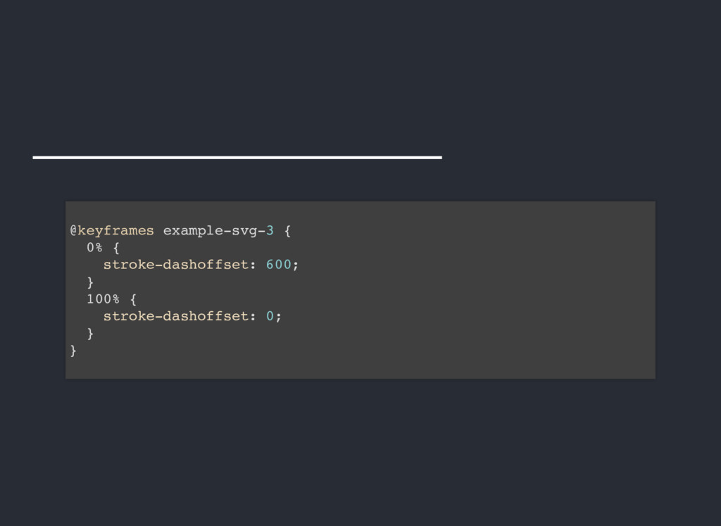 @keyframes example-svg-3 { 0% { stroke-dashoffs...
