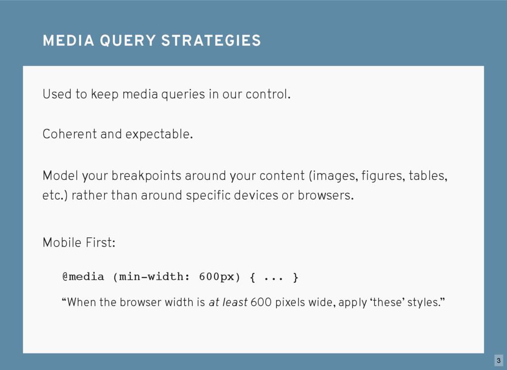 #1. Don't spell it media query s. MEDIA QUERY ...