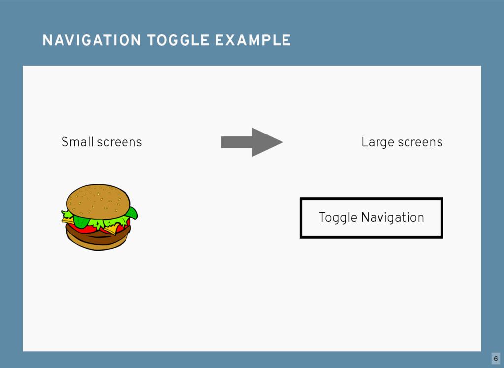 NAVIGATION TOGGLE EXAMPLE NAVIGATION TOGGLE EXA...