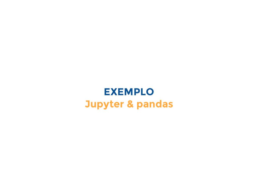 EXEMPLO Jupyter & pandas