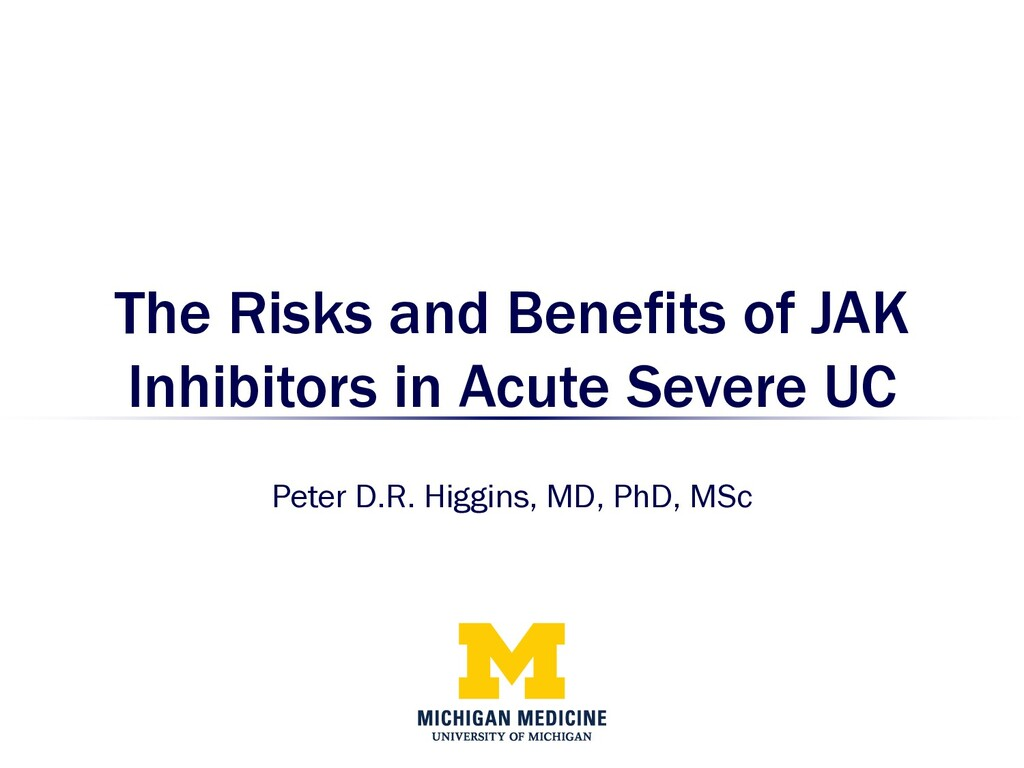 The Risks and Benefits of JAK Inhibitors in Acu...
