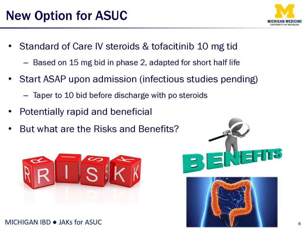 New Option for ASUC • Standard of Care IV stero...
