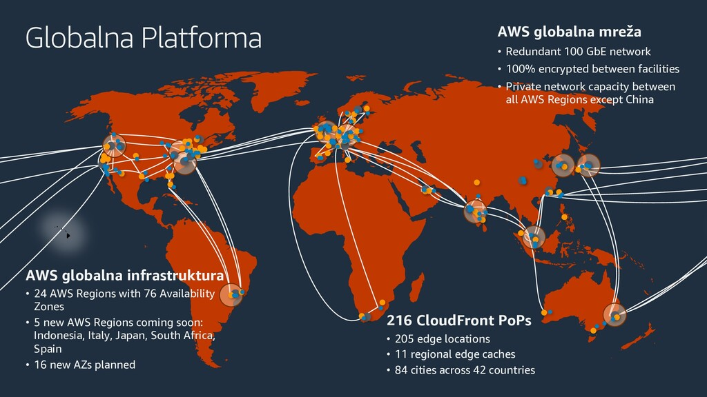 Globalna Platforma AWS globalna infrastruktura ...