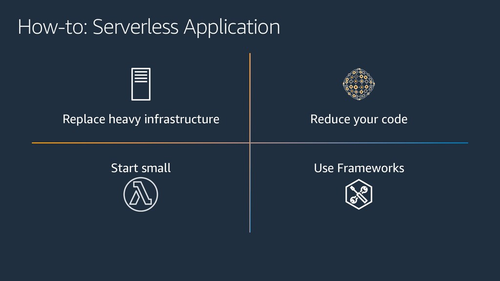 How-to: Serverless Application Replace heavy in...