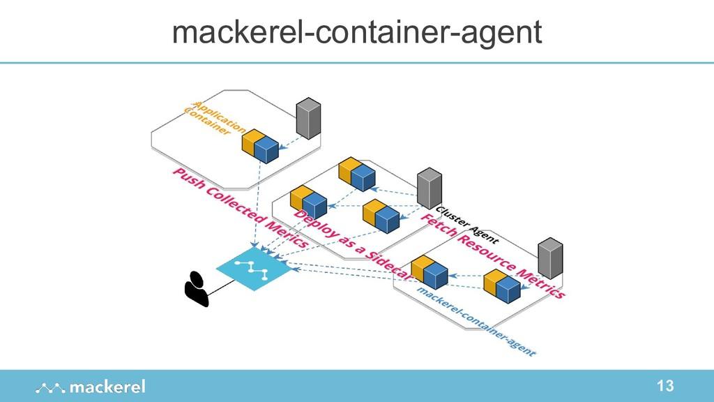 13 mackerel-container-agent