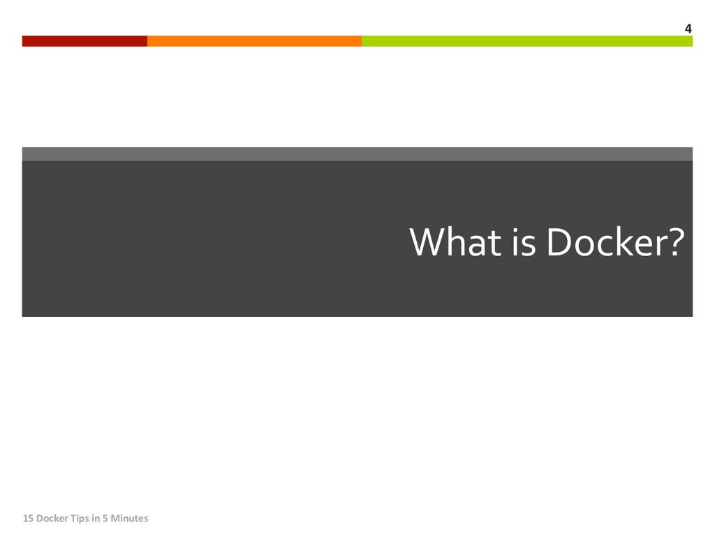 What is Docker?  15 Docker Tips...