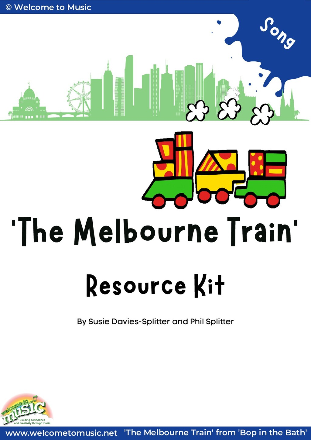 'The Melbourne Train' Resource Kit By Susie Dav...
