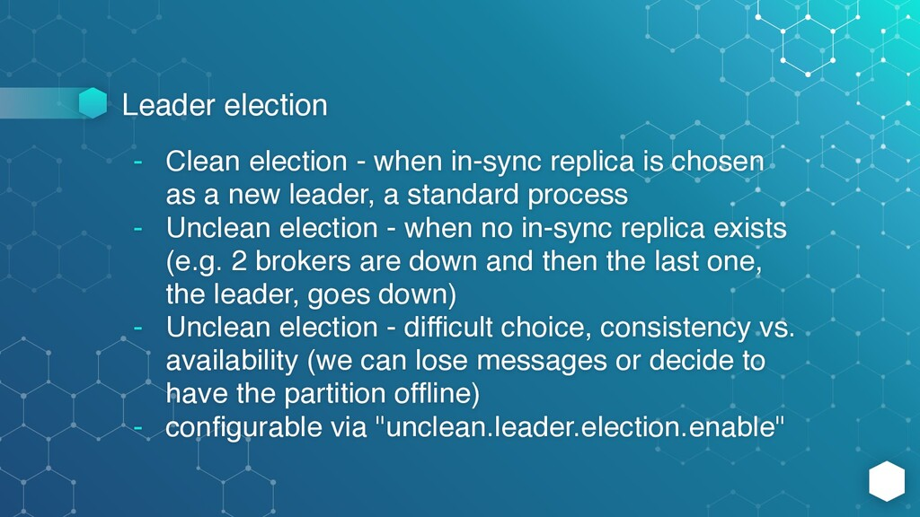Leader election - Clean election - when in-sync...