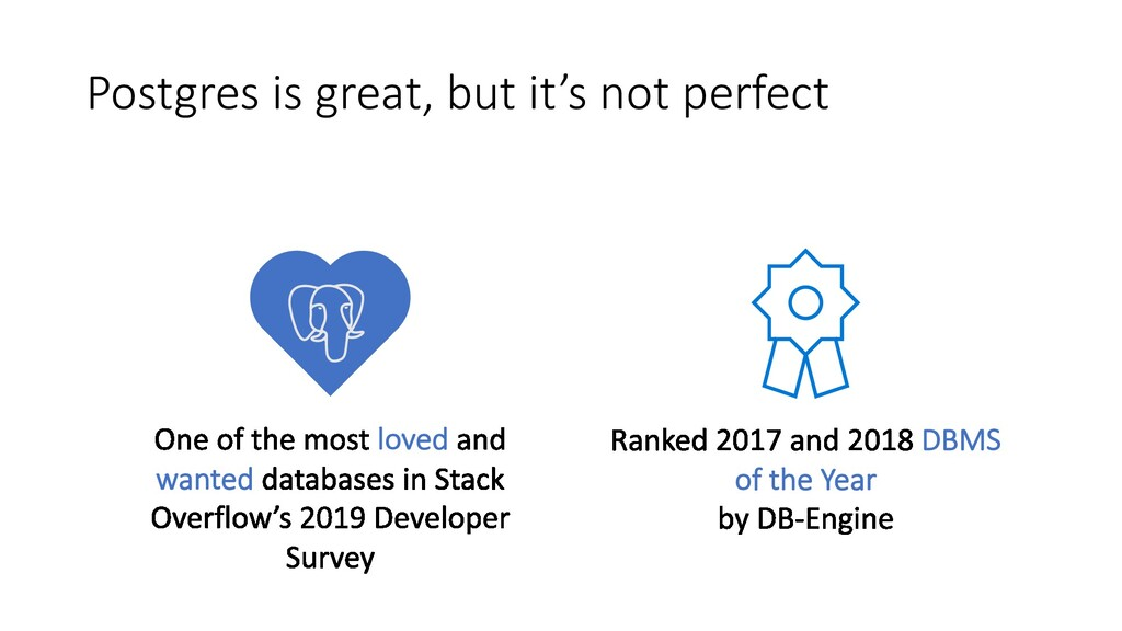 Postgres is great, but it's not perfect loved w...