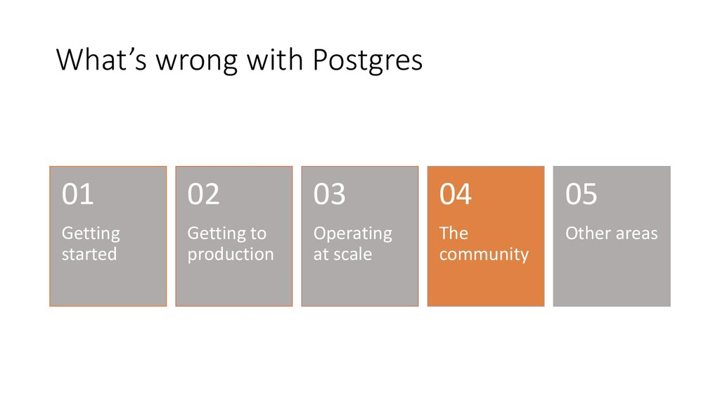 What's wrong with Postgres Getting started 01 G...