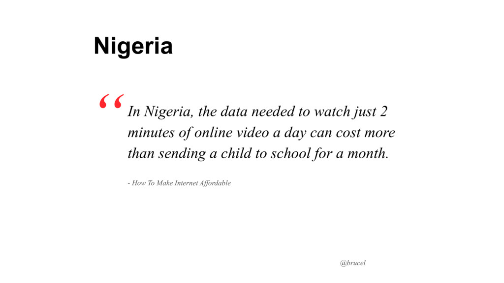 @brucel In Nigeria, the data needed to watch ju...