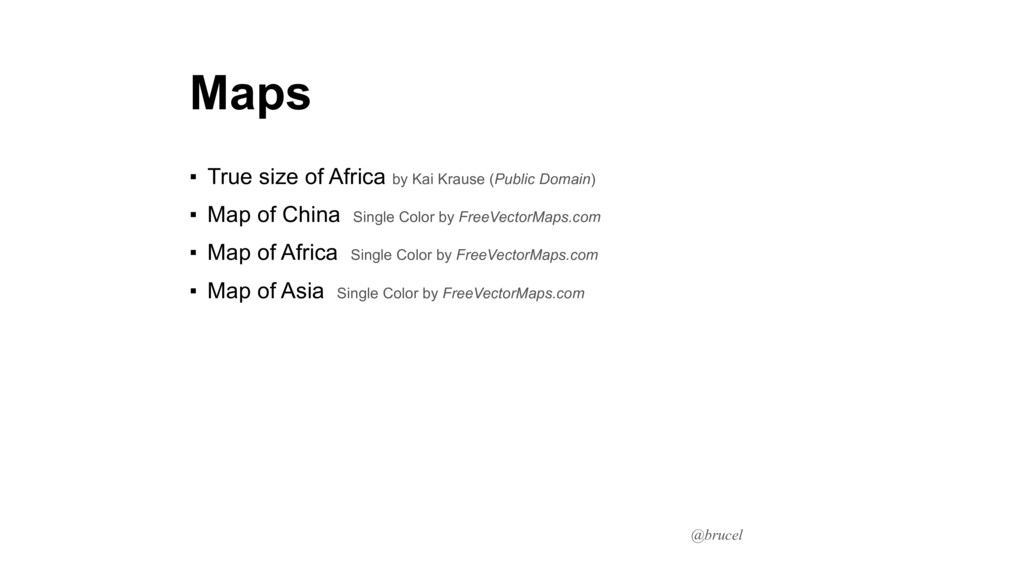 @brucel Maps ▪ True size of Africa by Kai Kraus...