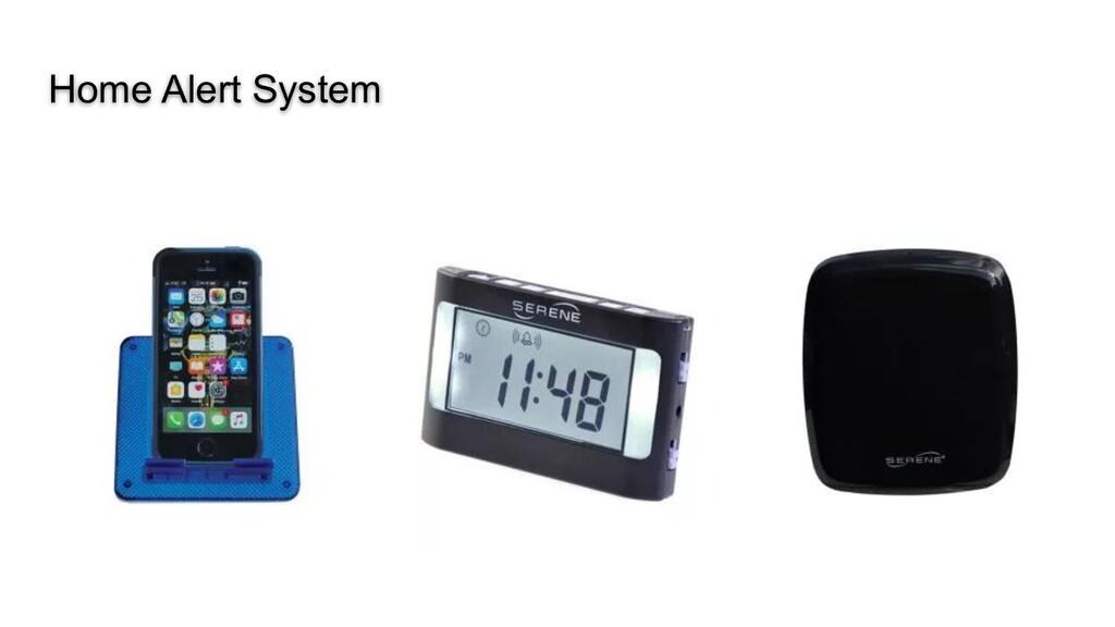 Home Alert System