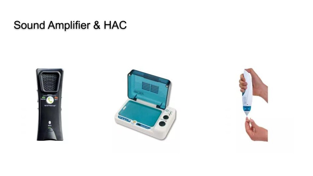 Sound Amplifier & HAC