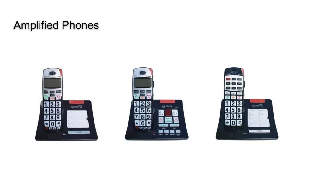 Amplified Phones