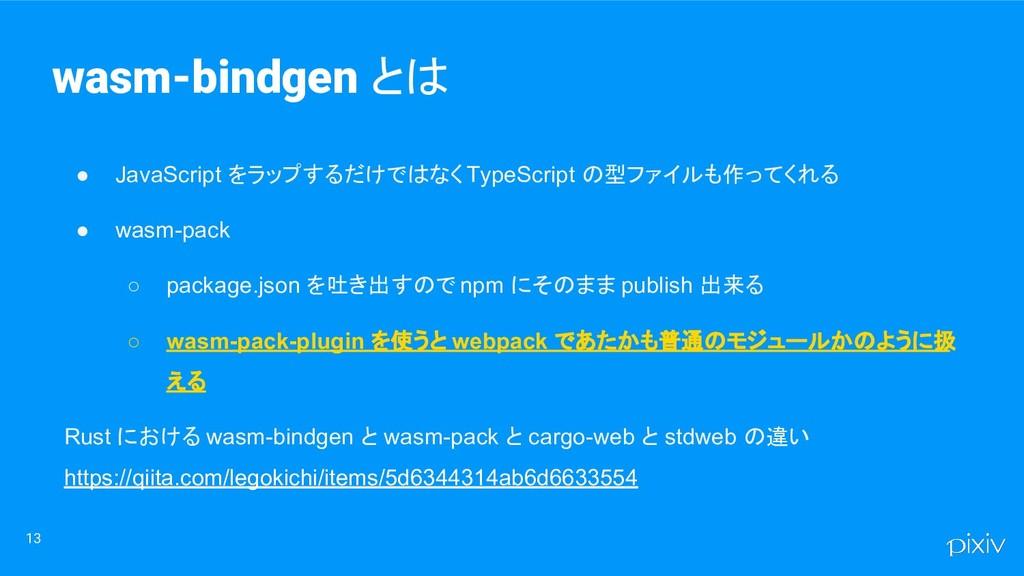 13 ● JavaScript をラップするだけではなく TypeScript の型ファイルも...