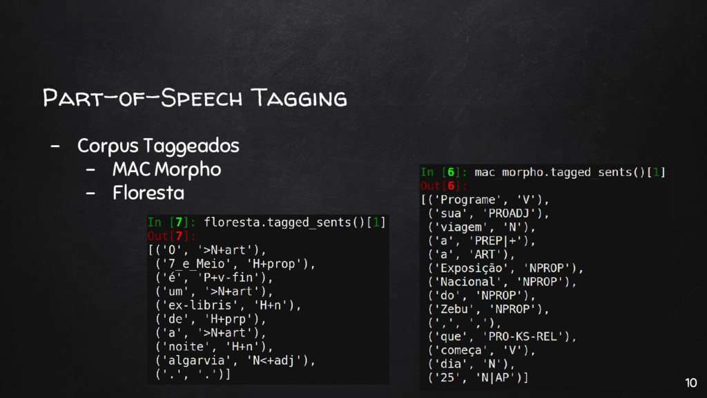 Part-of-Speech Tagging - Corpus Taggeados - MAC...