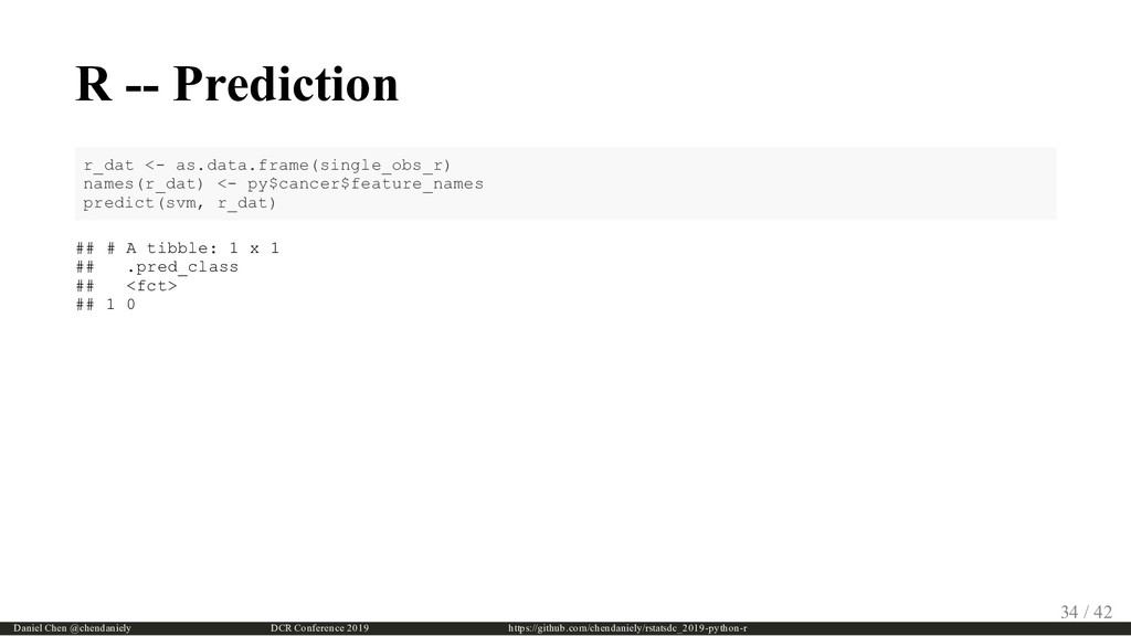 R -- Prediction r_dat <- as.data.frame(single_o...