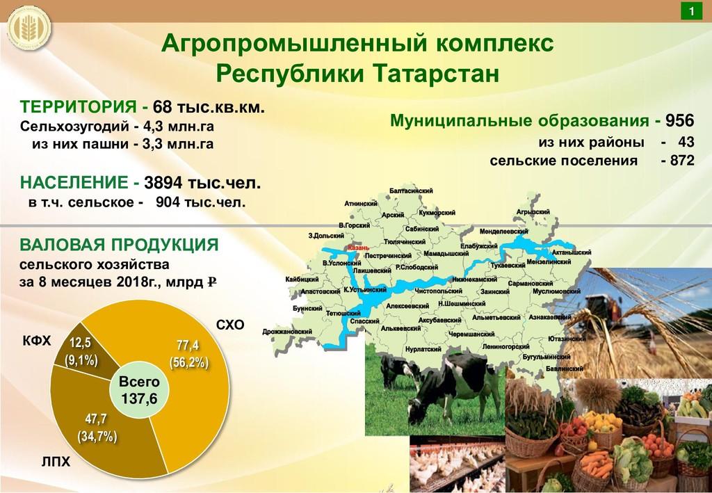ТЕРРИТОРИЯ - 68 тыс.кв.км. Сельхозугодий - 4,3 ...