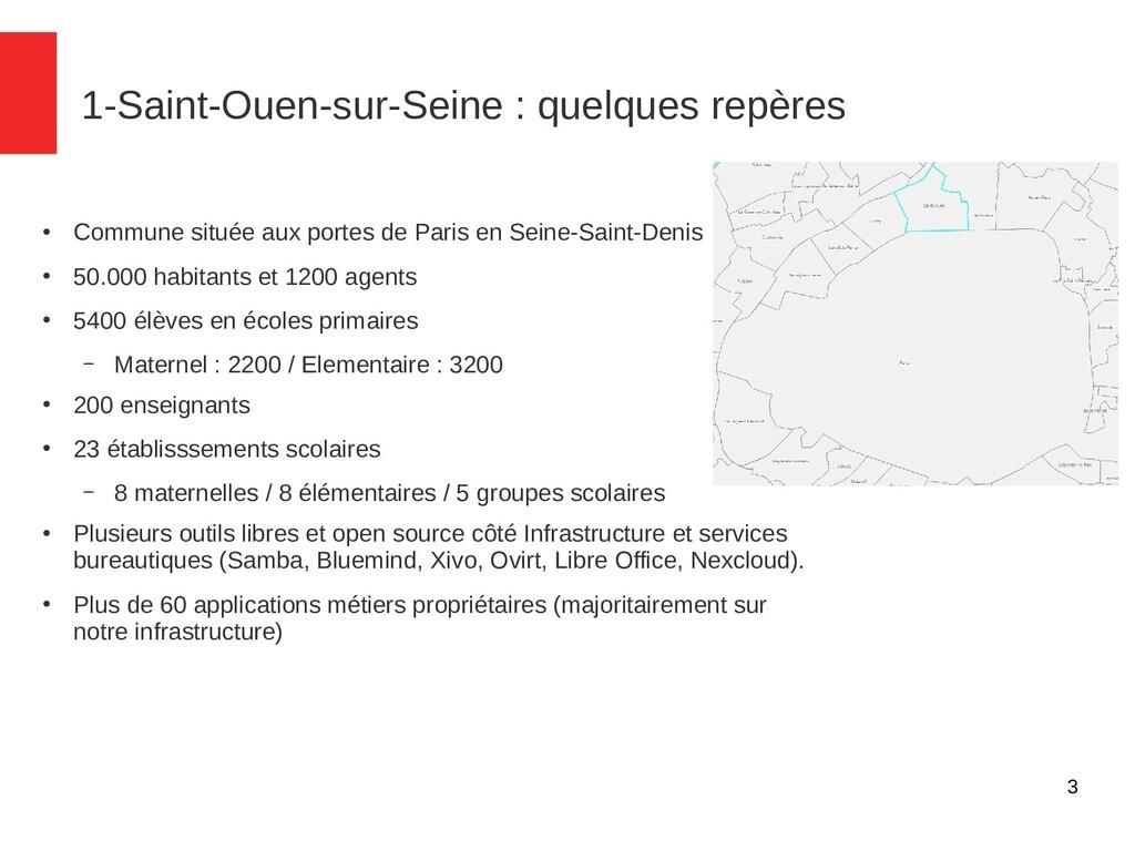 3 1-Saint-Ouen-sur-Seine : quelques repères ● C...
