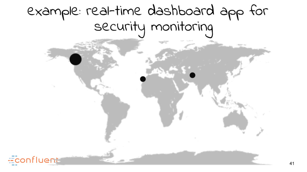 41 example: real-time dashboard app for securit...