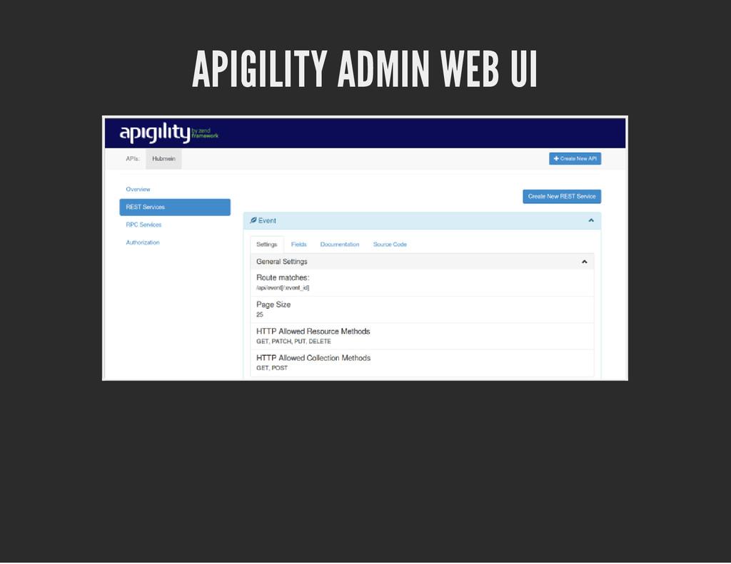 APIGILITY ADMIN WEB UI