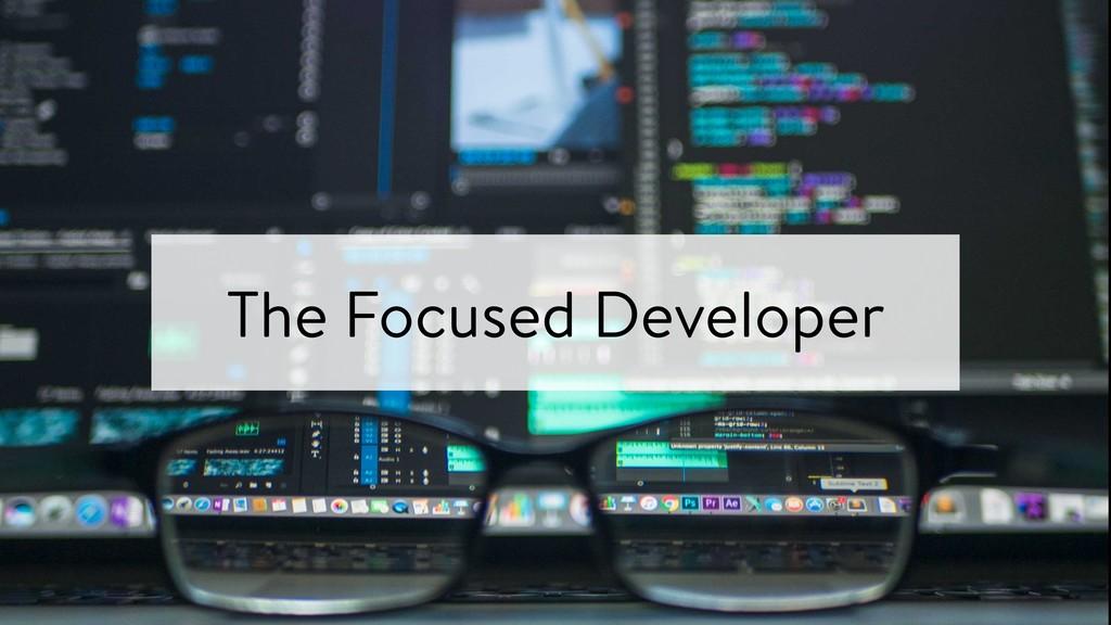 The Focused Developer