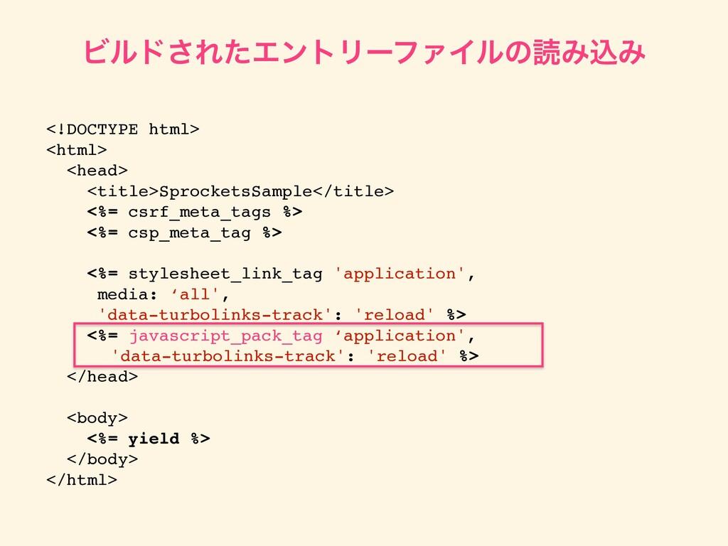 Ϗϧυ͞ΕͨΤϯτϦʔϑΝΠϧͷಡΈࠐΈ <!DOCTYPE html> <html> <he...