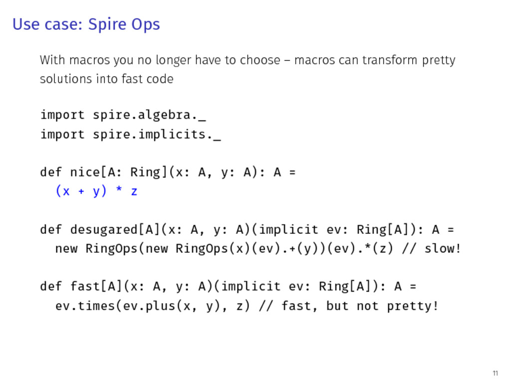 Use case: Spire Ops With macros you no longer h...