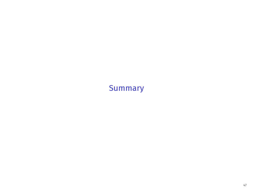 Summary 47