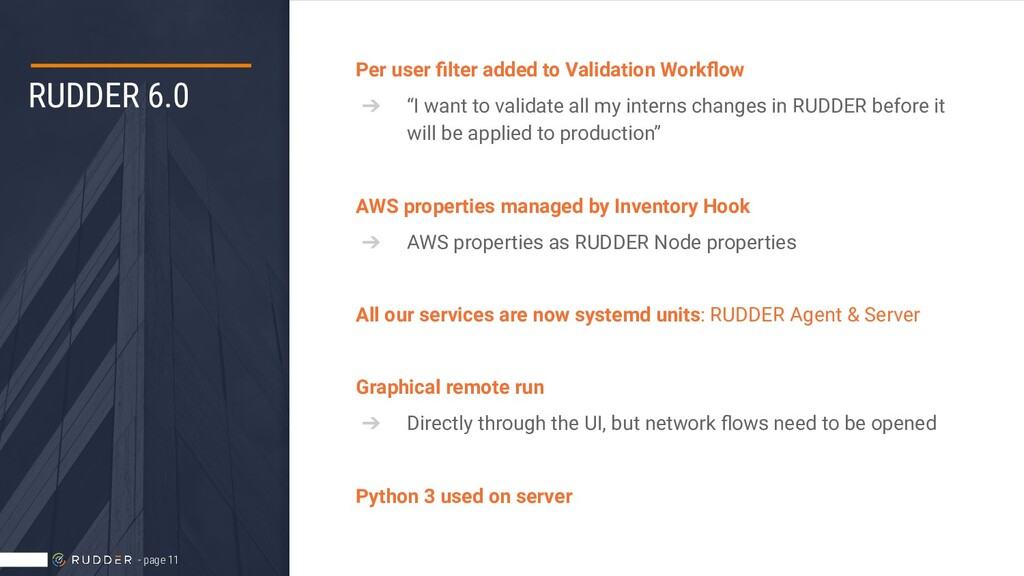 RUDDER 6.0 Per user filter added to Validation W...