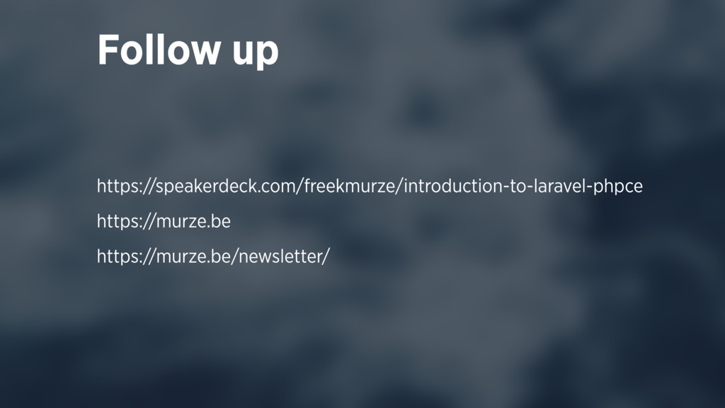 Follow up https://speakerdeck.com/freekmurze/in...