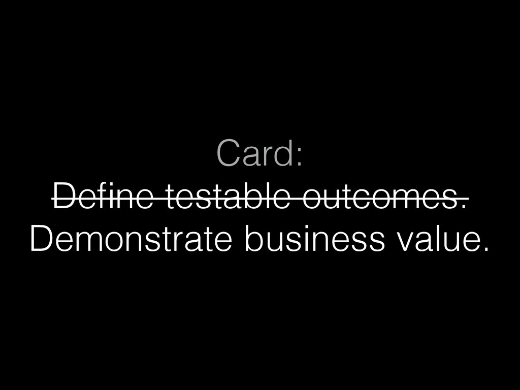 Card: 