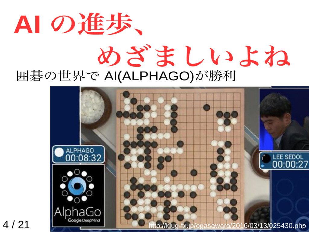 AI の進歩、 めざましいよね http://klug-fx.jp/ogasawara/201...