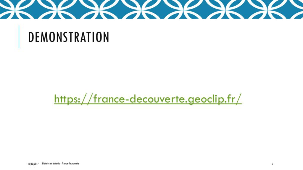 DEMONSTRATION https://france-decouverte.geoclip...