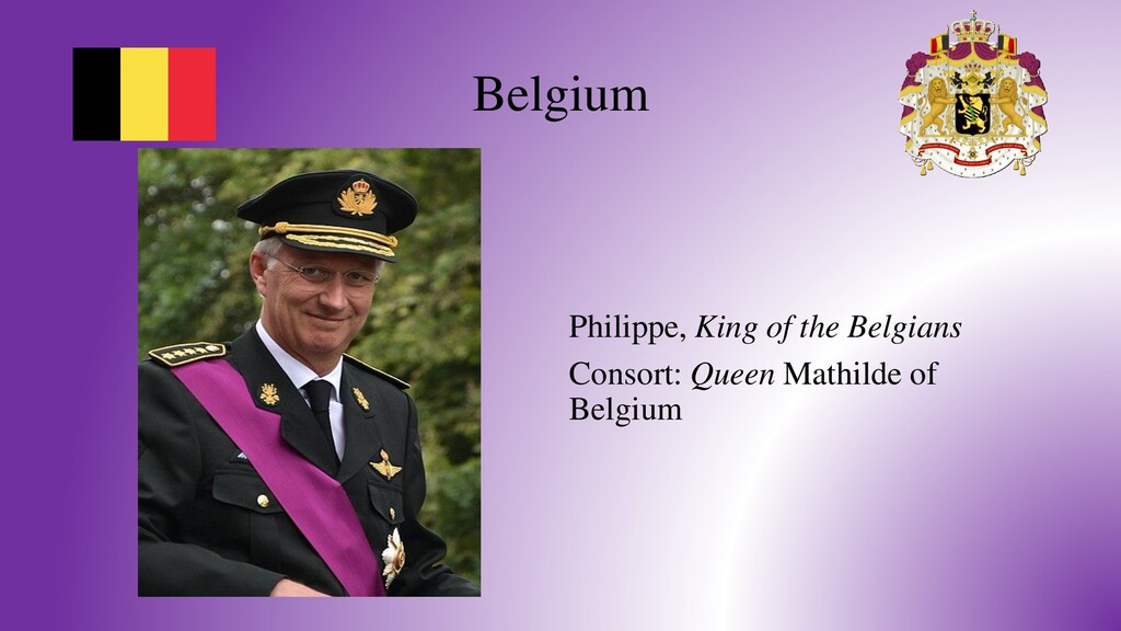 Belgium Philippe, King of the Belgians Consort:...