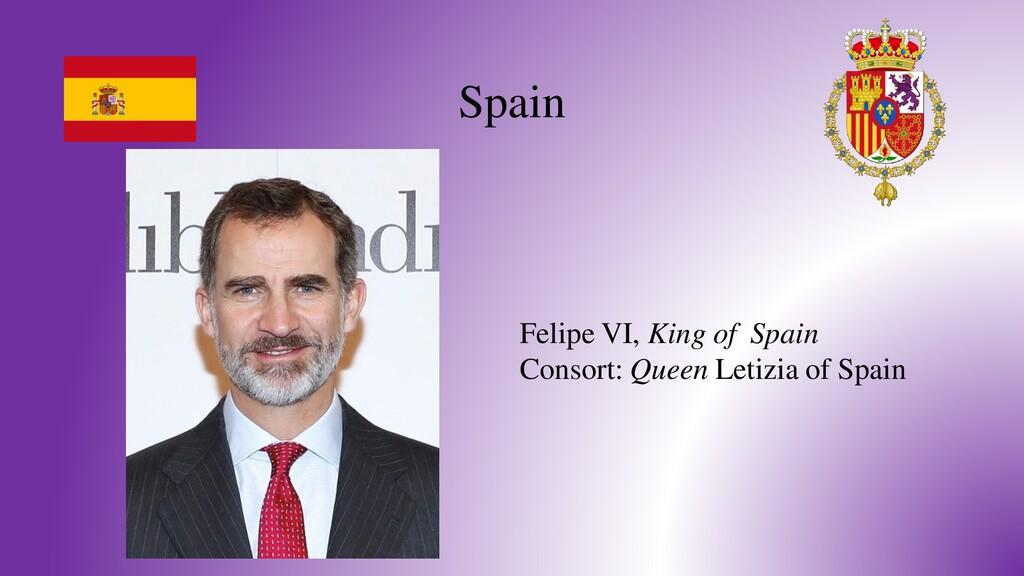 Spain Felipe VI, King of Spain Consort: Queen L...