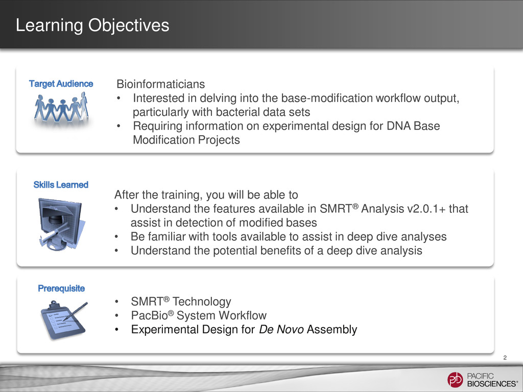 Learning Objectives 2 Bioinformaticians • Inter...