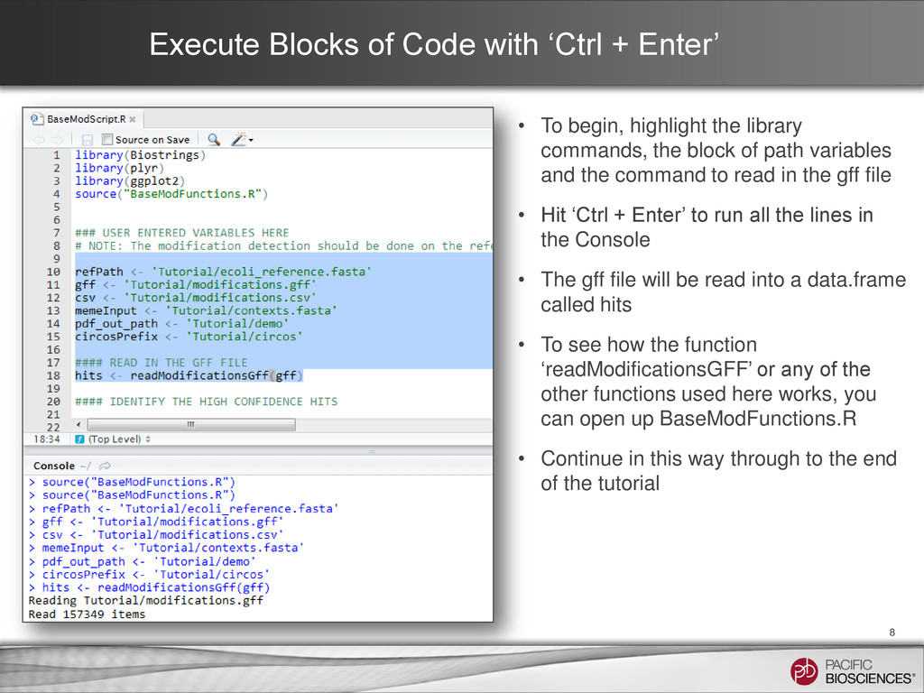 Execute Blocks of Code with 'Ctrl + Enter' • To...