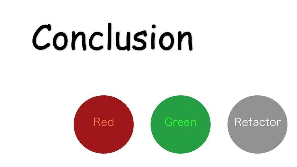 Conclusion (SFFO 3FE 3FGBDUPS