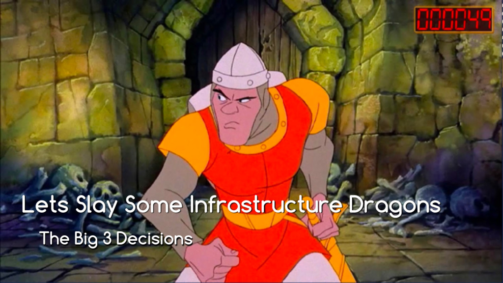 Lets Slay Some Infrastructure Dragons The Big 3...