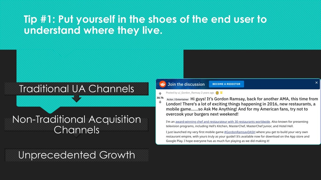 Tip #1: Put yourself in the shoes of the end us...