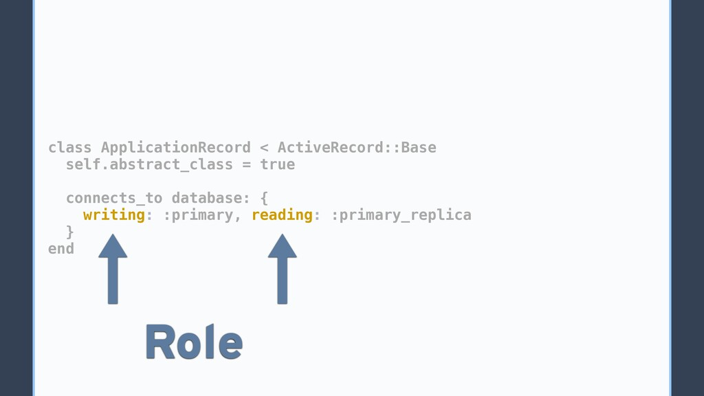 class ApplicationRecord < ActiveRecord::Base se...
