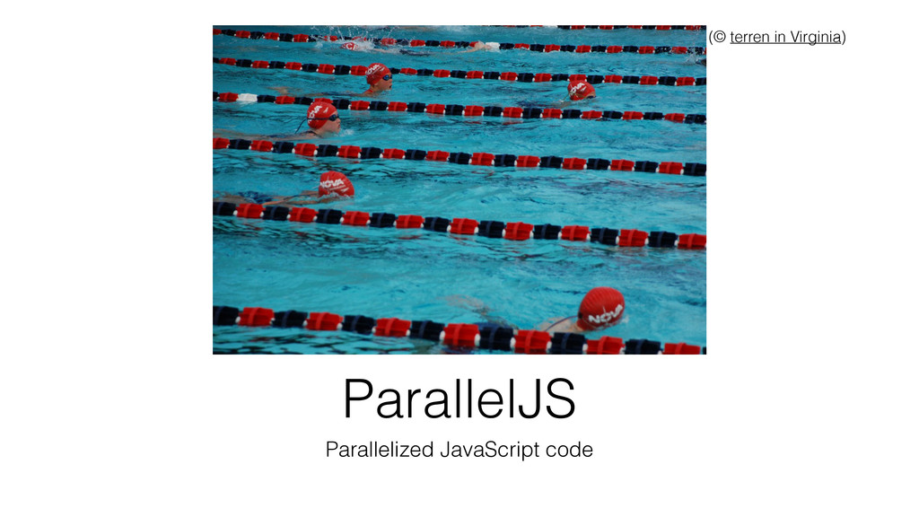ParallelJS Parallelized JavaScript code (© terr...