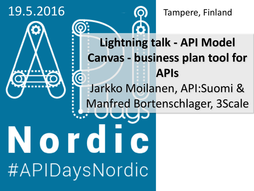 Lightning talk - API Model Canvas - business pl...